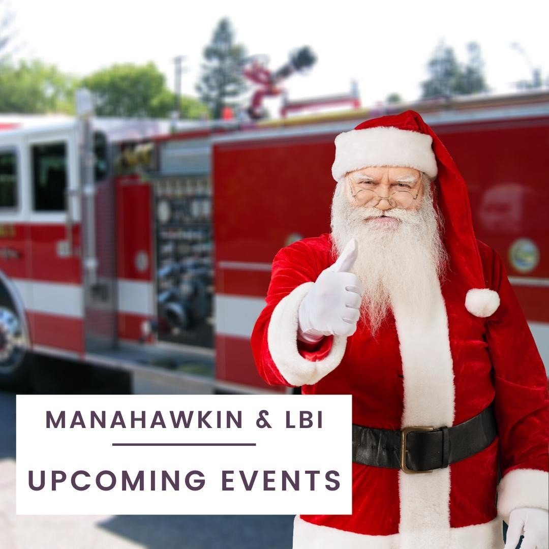 LBI Super EXCITED about upcoming events in our area!  We NEED some fun!⁠ Santa Visit…