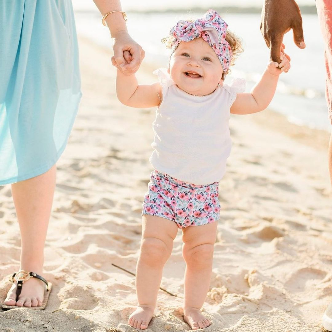 LBI This baby girl was so cute that it was downright painful! Perfect evening at Oce…