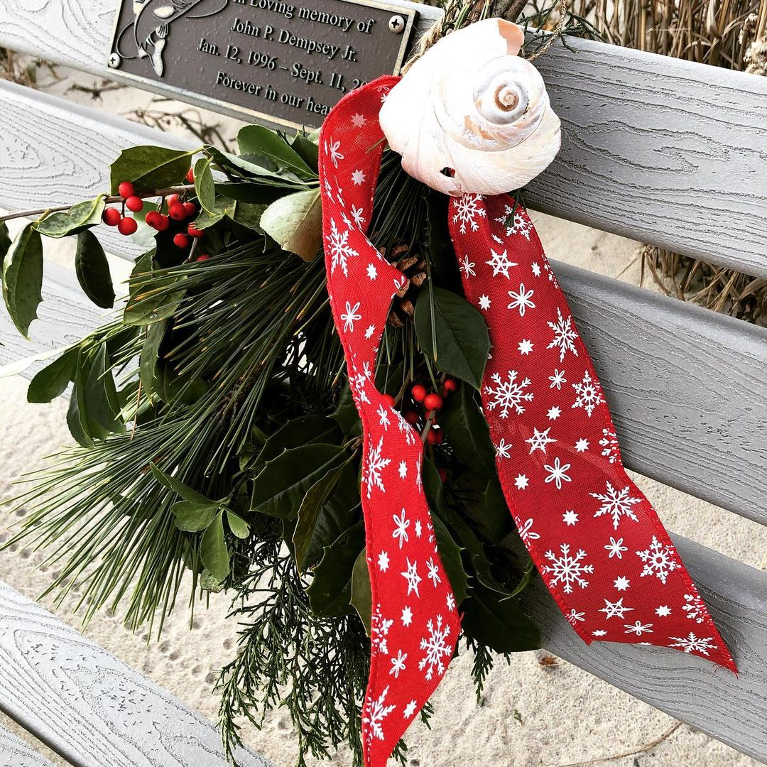 LBI This lovely seasonal remembrance caused me to pause and say a prayer.  Peace and…