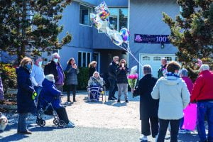 Althea Martie Guest of Honor at Outdoor 100th Birthday in Barnegat Light