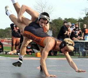 Pinelands Wrestlers Cruise Past Barnegat in Shore's First Outdoor Match