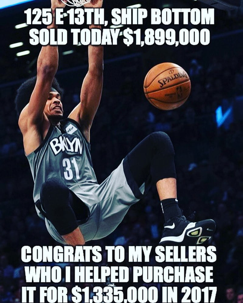 LBI Congratulations to our sellers on their slam dunk sale today at 125 e 13th st, S…