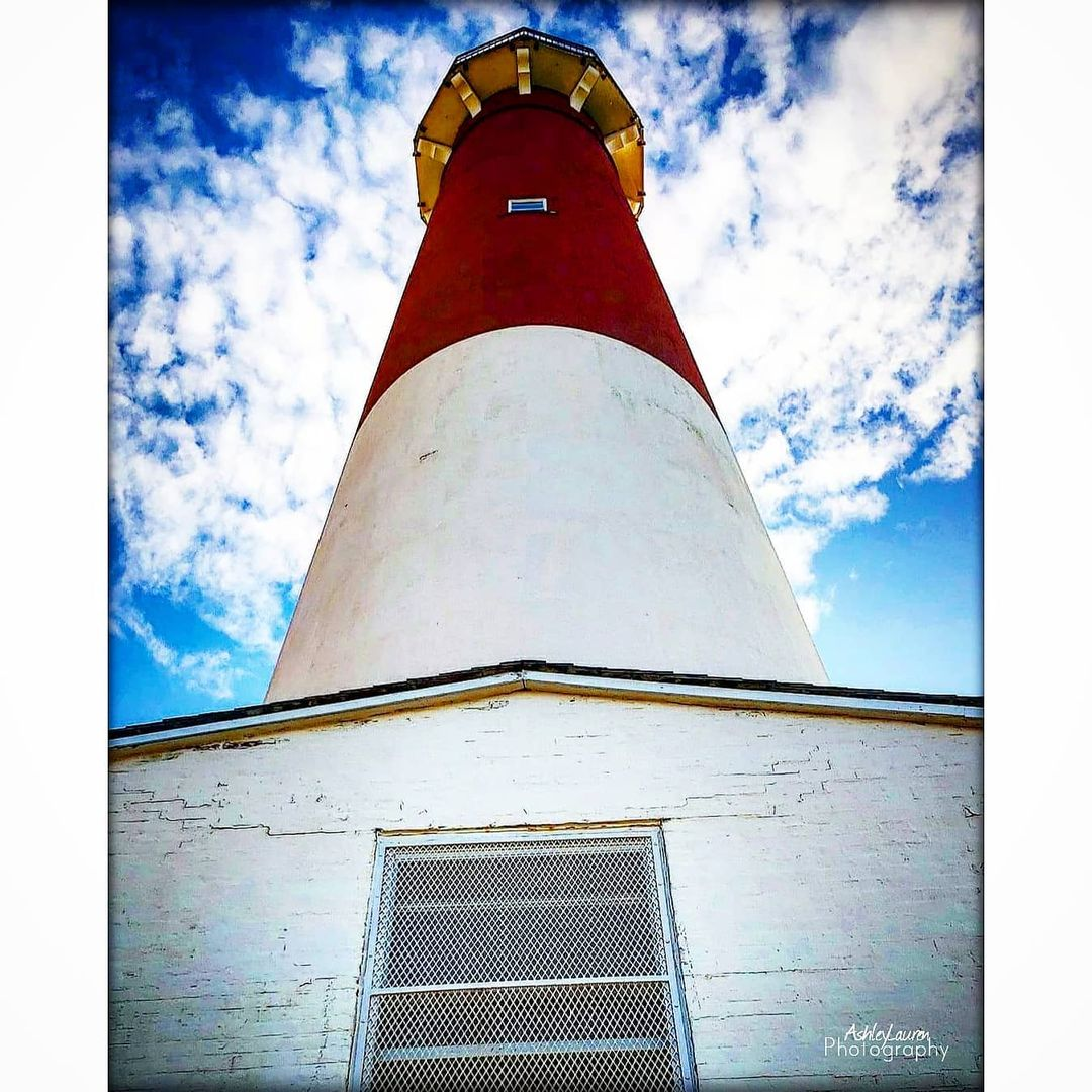 LBI I love the Angle of this,  Barnegat Lighthouse          …