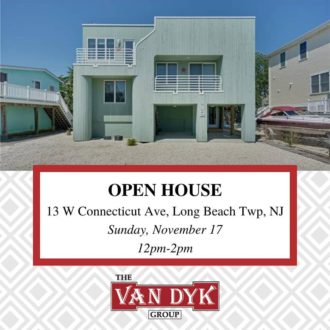 LBI  OPEN HOUSE  Sunday, 11/17/2019  12 pm to 2 pm . .                         …