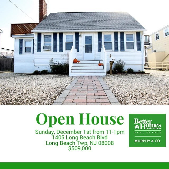 Read more about the article LBI Open House- Sunday, December 1st from 11-1pm 1405 Long Beach Blvd  Long Beach Tw…