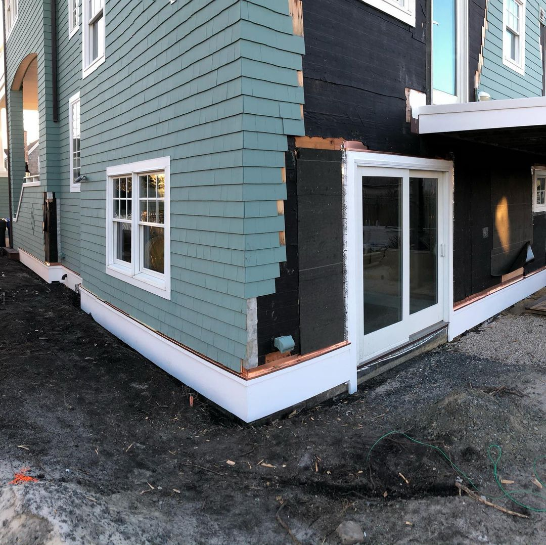 LBI Unfortunately cold days are not always spent inside doing trim work. Sometimes y…