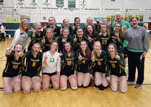 Pinelands Cruises Past Jackson Liberty for First Girls Volleyball Sectional Title