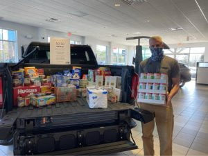 Drop Off Food Bank Donations Through End of April – Here's Where