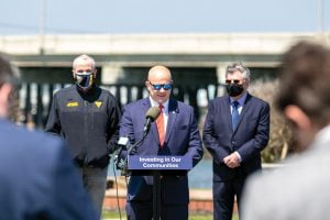 Read more about the article Gov. Murphy Joins Local Mayors, DOT to Mark Start of Bridge Project's Final Phase