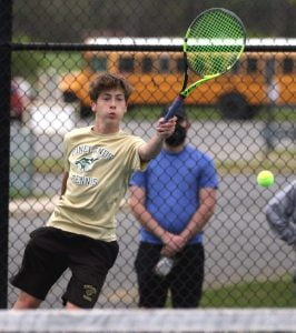 Read more about the article Pinelands Regional Goes Undefeated Through First 10 Tennis Matches