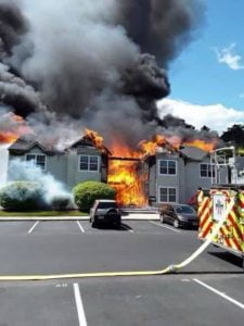 Families Displaced Following Royal Timbers Fire