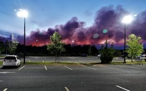 Worst of Little Egg Harbor Forest Fire Could Be Behind Us