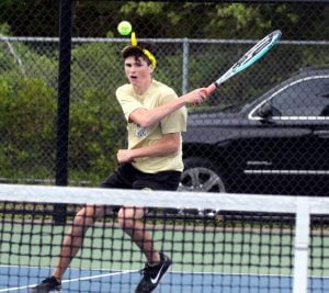 Pinelands Clinches Second in Boys Tennis County Tournament