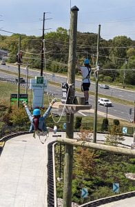 Read more about the article High Flying on the Aerial Course at Mainland Adventure Park