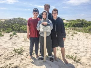 Seeking the Story of the Sea King: Triplet Grandsons Dig Up History