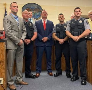 Potter Takes Reins as New Ship Bottom Police Chief