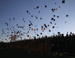 Appreciative Seniors Leave Southern Regional With a Normal Graduation Ceremony