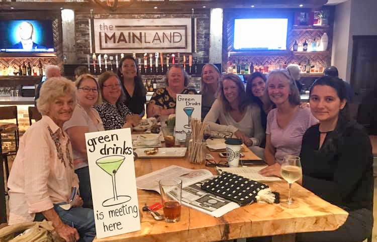 'Green Drinks' Serves Up Eco-Friendly Conversations
