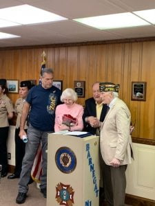 Read more about the article World War II Veteran Celebrates 100th at Barnegat VFW