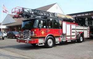 Read more about the article Stafford Township Fire Department Welcomes Newest Ladder Truck