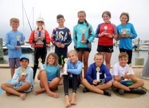 Read more about the article Bodnar's Upwind Tacks in Final Race Secure Annual Optimist Regatta