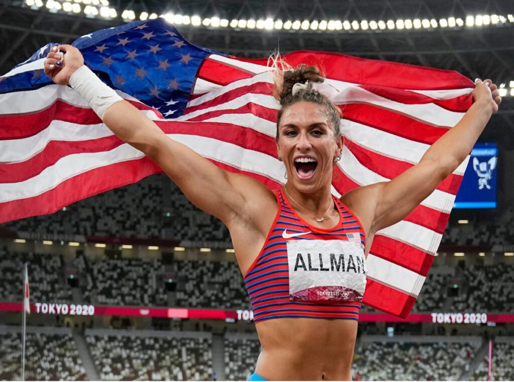 Olympic Gold Medalist in Women's Discus Has Barnegat Light Connection