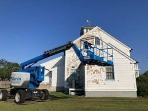 Read more about the article Upcoming Paint Job Is One of Many Layers of Old Coast Guard Building's Preservation
