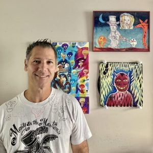 Read more about the article Marty Mayo Mystifies With 'Halloween' Exhibit at Barnegat Library