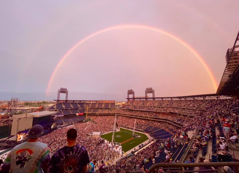 Read more about the article Rave On: Dramatic Skies, Timeless Tributes, Rainbow Full of Sound
