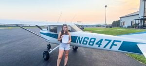Read more about the article West Creek Teen Earns Her Pilot's License at Age 17