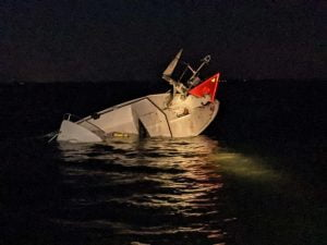 Read more about the article Six Rescued from Bay After Overnight Boat Collision