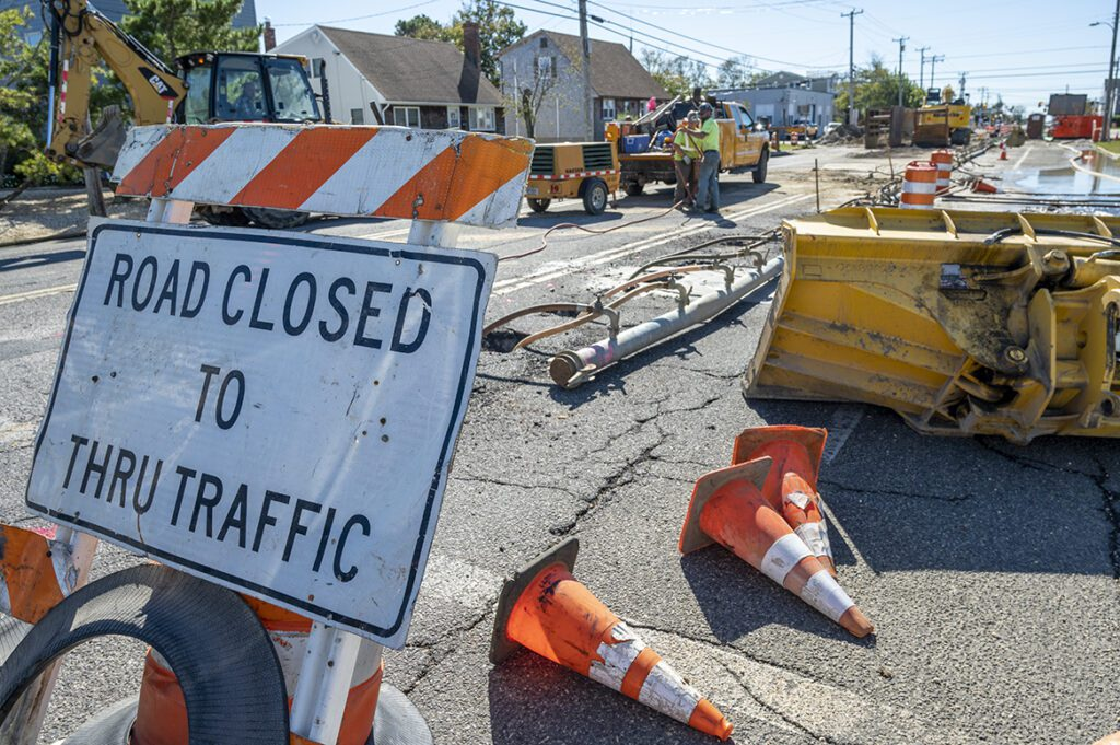 Read more about the article Road Work Signals the Offseason on LBI